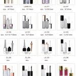 Envases de labios para cosmética