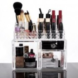 Organizador de maquillaje y productos de belleza