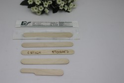 Espatulas de madera para cosmetica